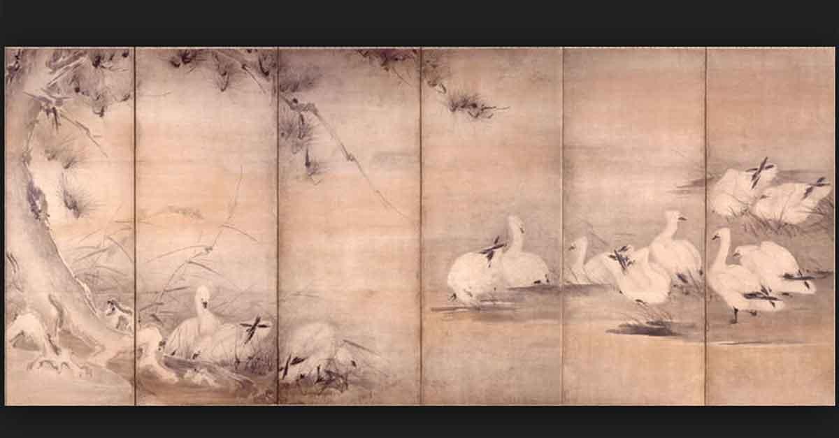 Miyamoto Musashi Zeichnung