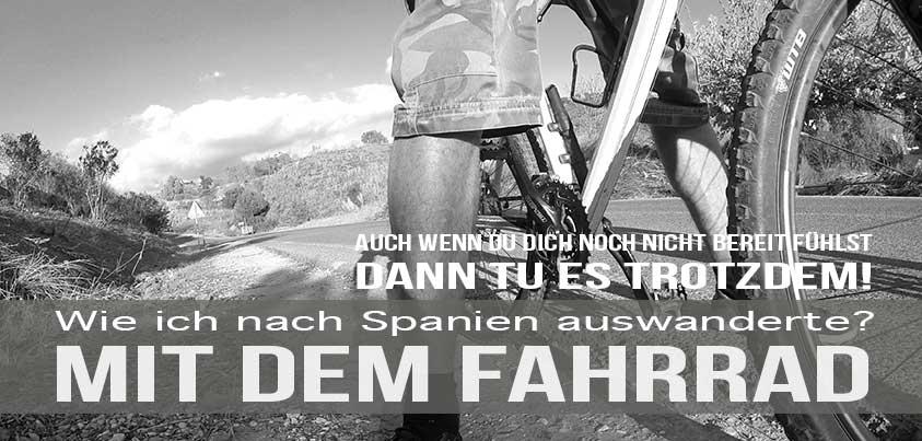 Nach Spanien auswandern - Mit dem Fahrrad
