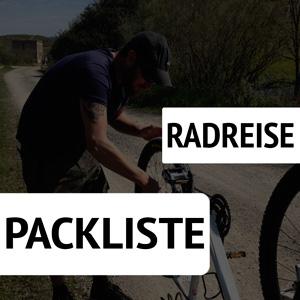 Radreise Packliste