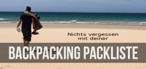 Backpacking Packliste Backpacker