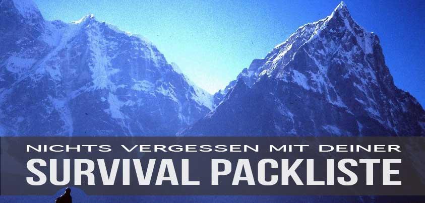 Survival Packliste