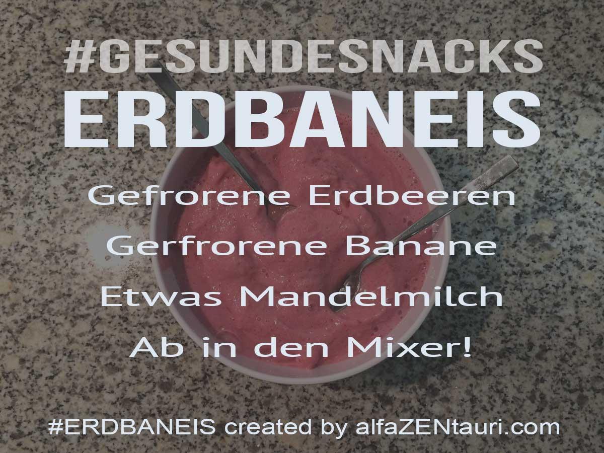 Erdbaneis - Gesunde Snacks #Erdbaneis created by #alfaZENtauri