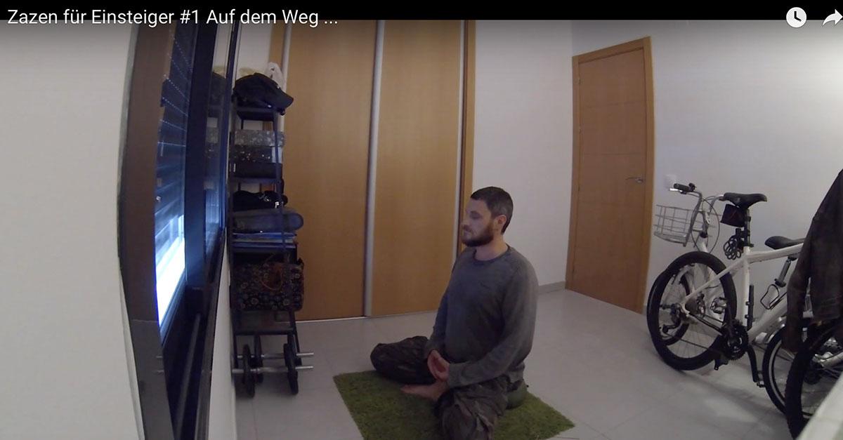 Meditation lernen - Zazen für Einsteiger #1 Auf dem Weg