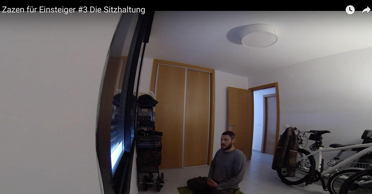 Meditation lernen: Zazen für Einsteiger #3 Die Sitzhaltung