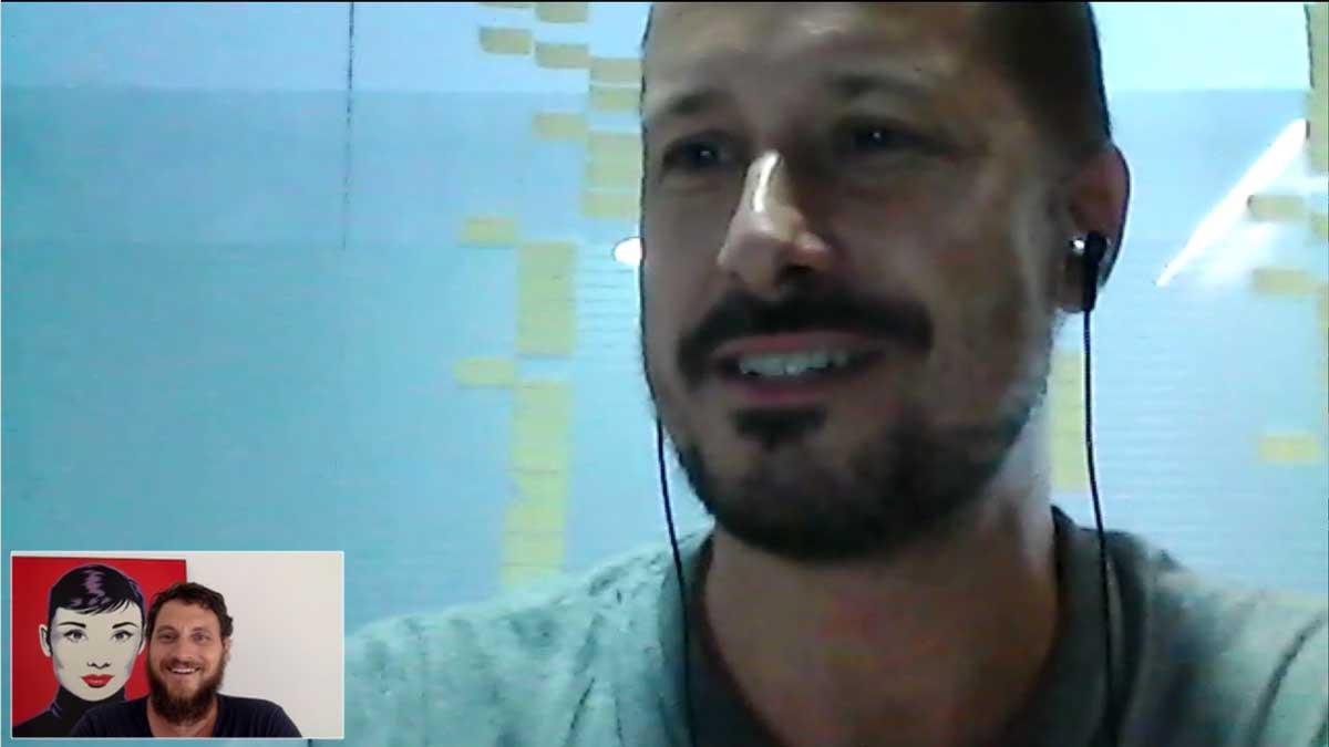 Alex Navarro Interview mit Mike Lippoldt bei alfa ZENtauri