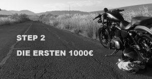 Die ersten 1000 Euro